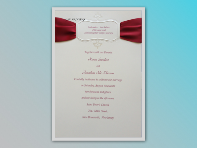 Weddings Invitations Three