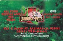 JURASSIC PETS
